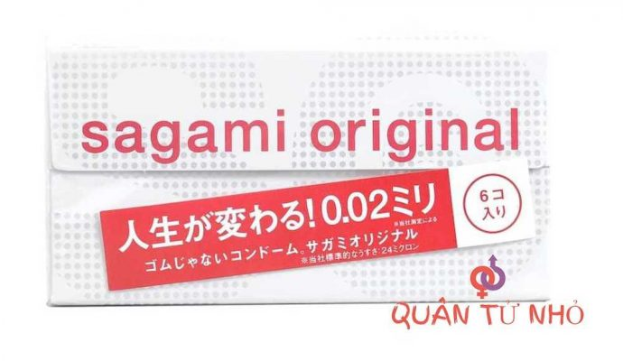 Bao cao su Sagami Original 0.02 chính hãng 1