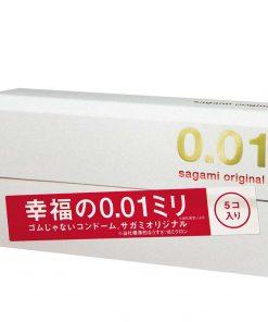 bao cao su sagami original 0.01