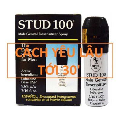 chai thuốc xịt stud 100