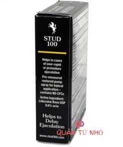 chai thuốc xịt stud 100 chống xuất tinh sớm 6
