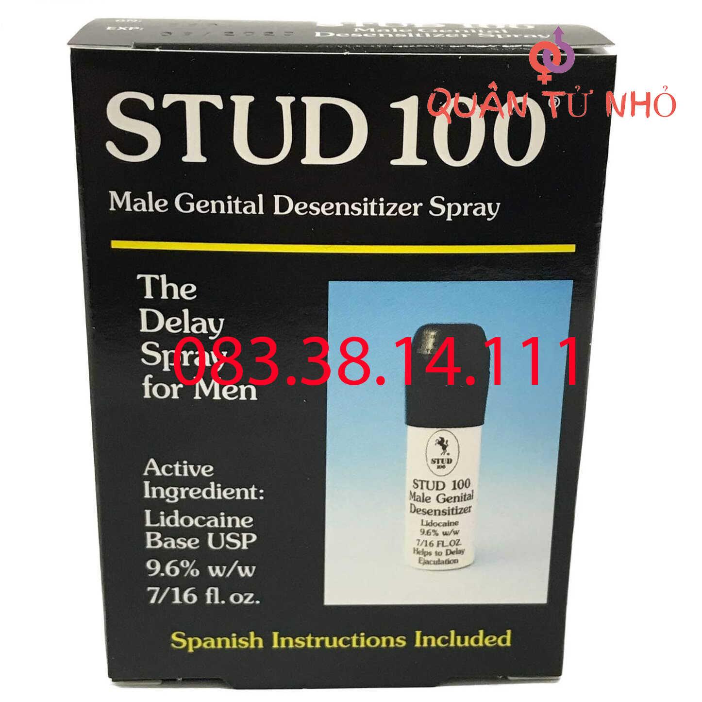 Chai thuốc xịt Stud 100 chính hãng Anh