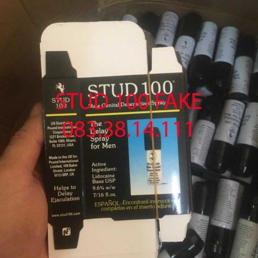 Chai Stud 100 hàng giả