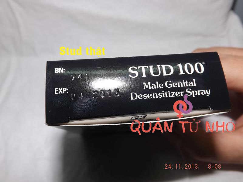 phân biệt stud 100 thật giả 2
