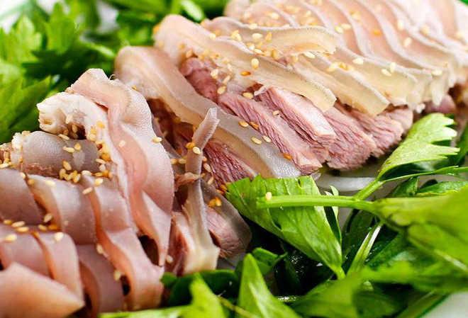 thịt dê thực phẩm tăng cường cương dương