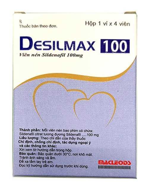 thuốc desilmax 100mg cường dương