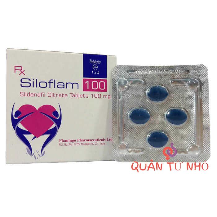 thuốc siloflam 100mg tăng cường cương dương 1