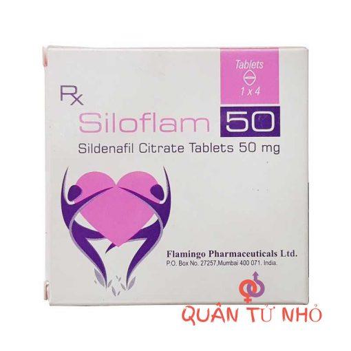 thuốc siloflam 50mg tăng cường cương dương