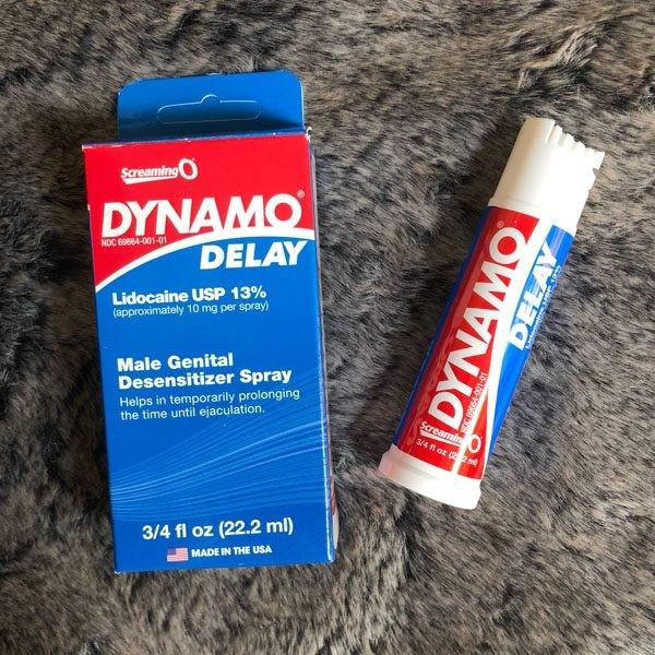 cơ chế hoạt động chai xịt Dynamo Delay