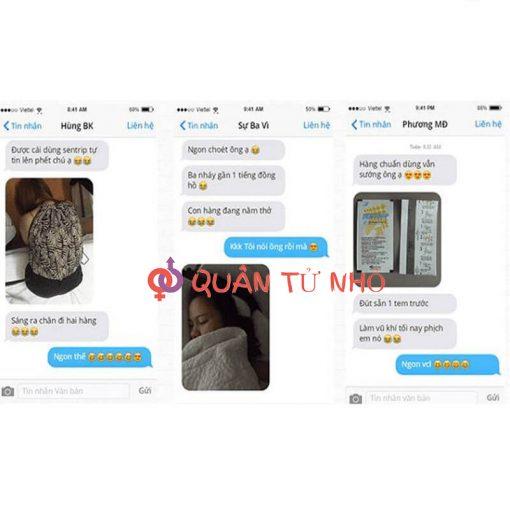 Phản hồi khách hàng về tem Sentrip Hàn