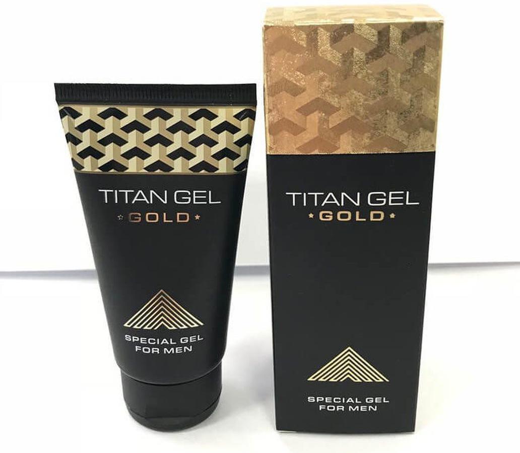 Gel Titan Gold 3