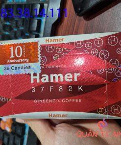 Công dụng kẹo sâm Hamer