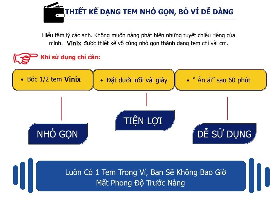 Hướng dẫn sử dụng tem Vinix hiệu quả